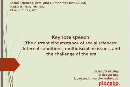 Keynote Speech: International Symposium on...